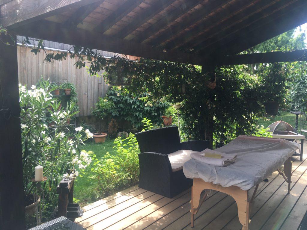 massage à domicile, bien-être, relaxation